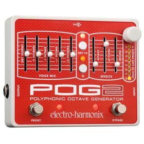 Electro Harmonix POG2 Polyphonic Octave Generator Pedal for sale