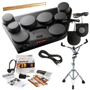 Yamaha DD-75 Digital Drum Kit DRUM ESSENTIALS BUNDLE