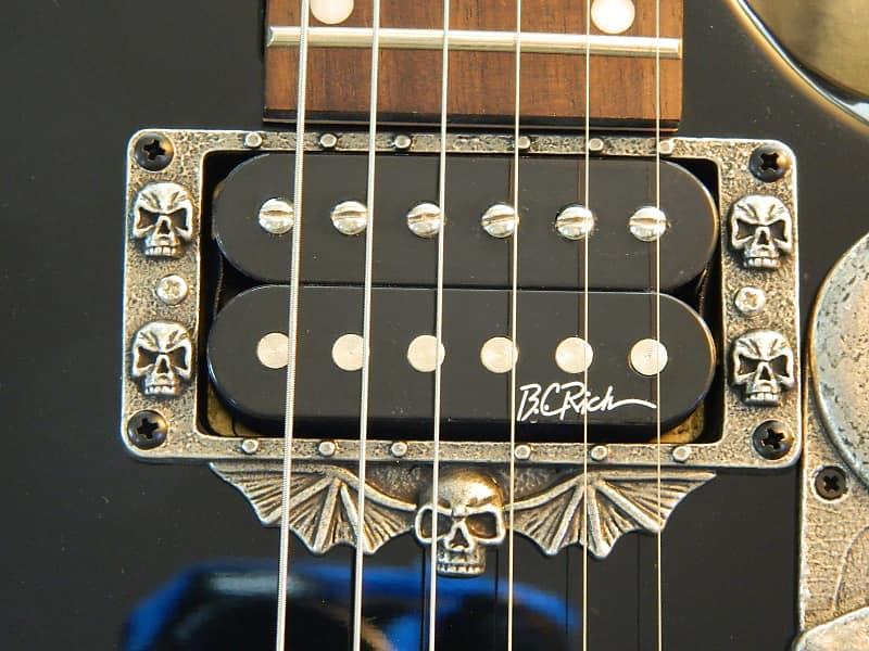 8 skull parts for bc rich warlock guitar knobs pickup rings reverb. Black Bedroom Furniture Sets. Home Design Ideas