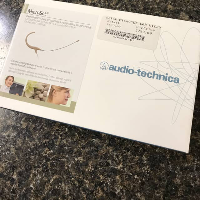 OLD STOCK MAKE OFFER!! Audio-Technica BP892cW-TH Beige image