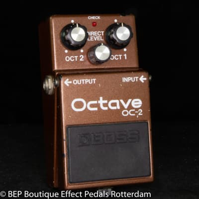 Boss OC-2 Octaver 1986 Japan s/n 639200 as used by Matt Bellamy, Chris Wolstenholme of MUSE