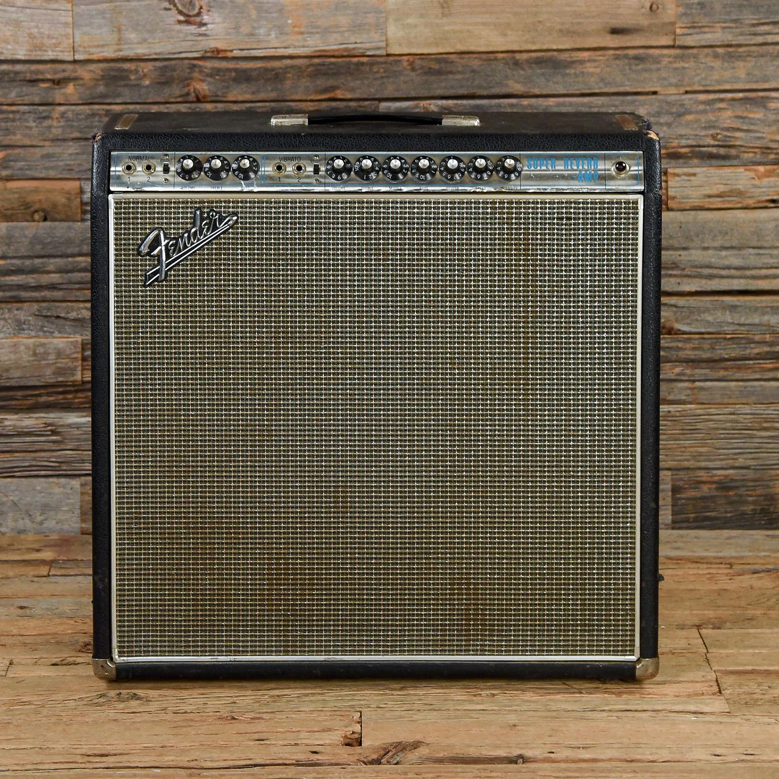 Fender Super Reverb 45w 4x10 Combo 1968 S003