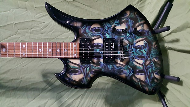 Bc Rich Mockingbird Body Art Collection 40 Lashes Graphic Reverb