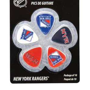 Woodrow New York Rangers Guitar Picks (10)