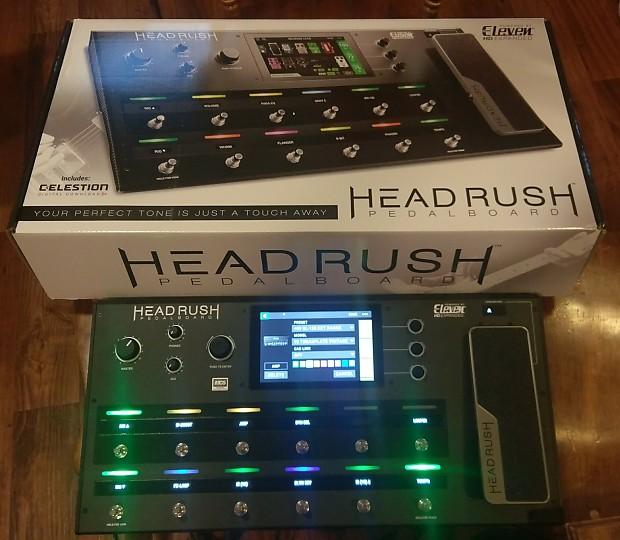 HeadRush Pedalboard Multi FX Amp Modeler w/Touch Screen