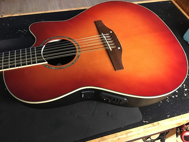 How is a Celebrity by Ovation Model NO CC168 guitar worth?