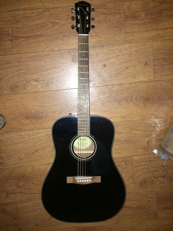 fender cd 60 v3 acoustic black paul 39 s gear reverb. Black Bedroom Furniture Sets. Home Design Ideas