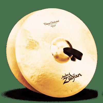 "Zildjian 20"" A Series Classic Orchestral Selection Medium Light Cymbals (Pair)"