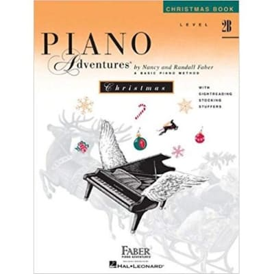 Piano Adventures: A Basic Piano Method - Christmas Book Level 2B