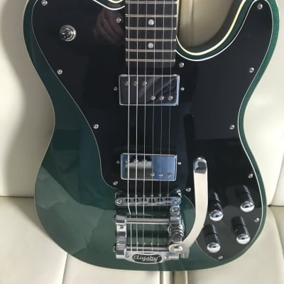 Schecter PT Fastback II  2019   with Rosewood Fretboard, Bigsby Tremolo Dark Emerald Green for sale
