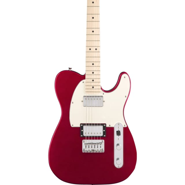 Squier Contemporary Telecaster Electric Guitar HH Maple Board, Dark Metallic Red image