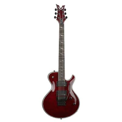 Dean Deceiver Floyd Flame Top Scary Cherry Electric Guitar