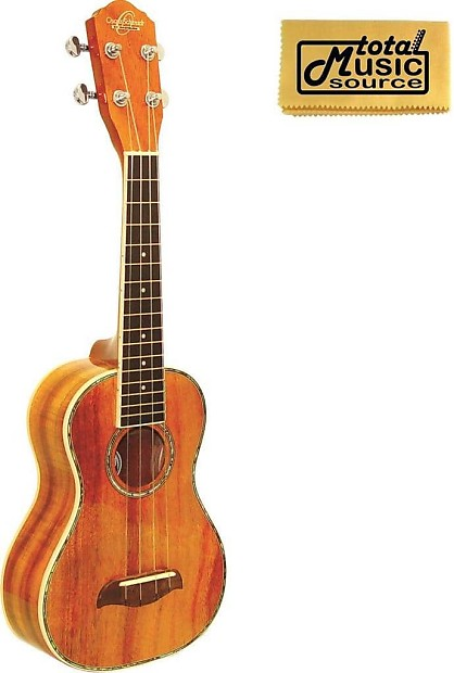 Guitars & Basses Oscar Schmidt Ou5 Koa Concert Ukulele Acoustic Electric Guitars