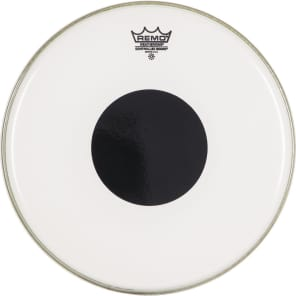 """Remo Controlled Sound Top Black Dot Drum Head 14"""""""