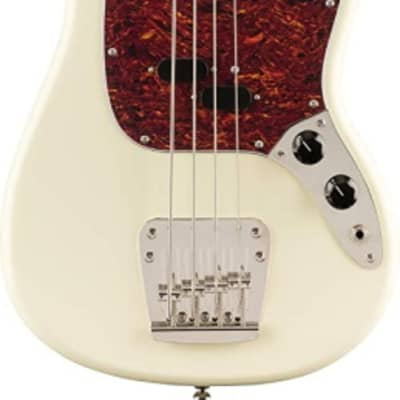 Squier Classic Vibe 60s Mustang 4-String Electric Bass - Olympic White