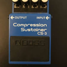 Boss CS-3 Compression Sustainer Blue