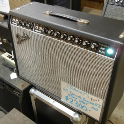 "Fender '65 Deluxe Reverb RI Cranky's ""Sexy Hexy"" mod 22-Watt 1x12"" Price Drop"
