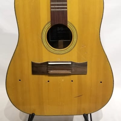 Del Vecchio Brazilian 12-String Acoustic 1972 Natural **Luthier Project** for sale
