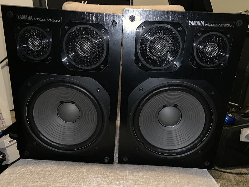 Yamaha Ns20m 3 way passive speakers | Aaron's Gear