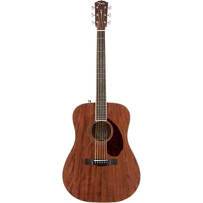Fender PM-1 Paramount All-Solid Mahogany Dreadnought with Hardshell Case