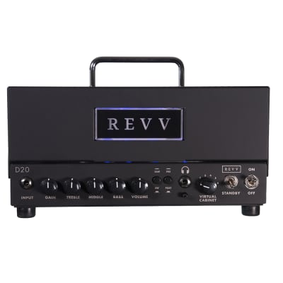 Revv D20 Guitar Amp Head w/ Two Notes Torpedo-Embedded Reactive Load for sale