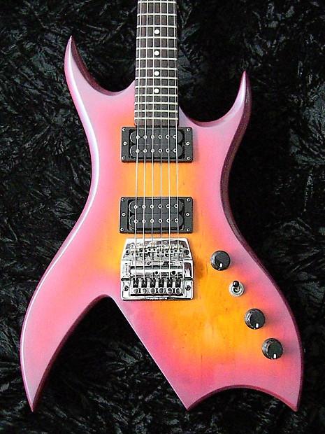 1984 Bc Rich Nj Series Bich Ultraviolet Burst