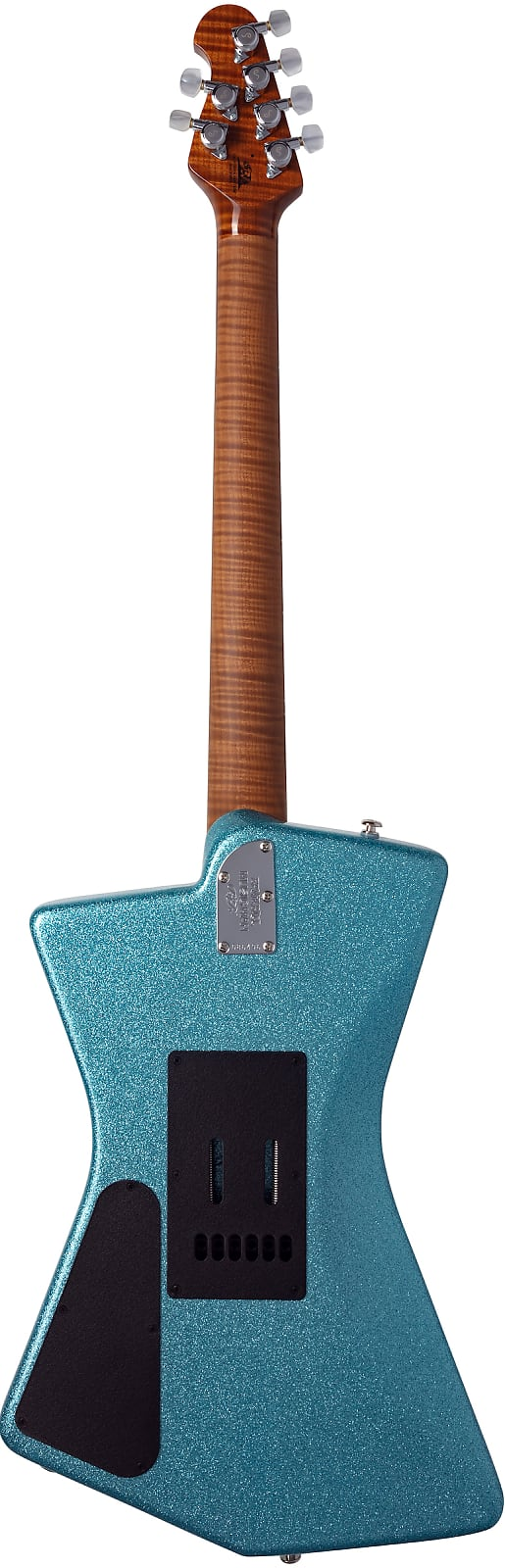 Ernie Ball Music Man St. Vincent Ball Family Reserve Turquoise Crush Sparkle #73 of 87