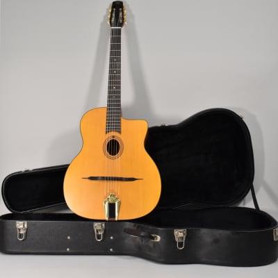 Cigano GJ-10 Petite Bouche Gypsy Jazz Acoustic Guitar w/HSC for sale