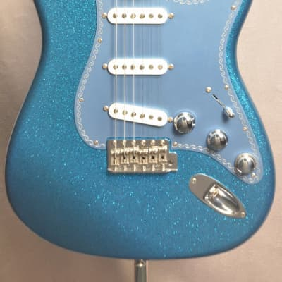 Fender Custom Shop Yamano 120th Anniversary Model Stratocaster Blue Sparkle Finish - Shipping Includ