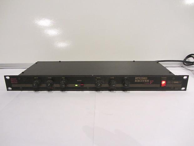 behringer studio exciter type f 90's Black   gal_kol_1980