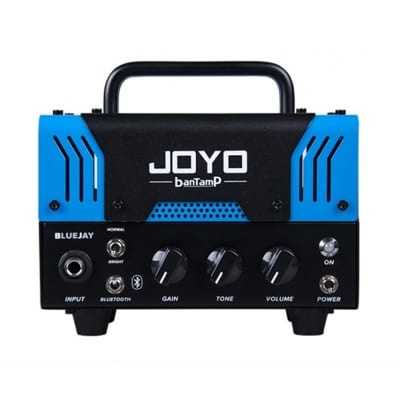JOYO BlueJay Bantamp 20w Pre Amp Tube Hybrid Guitar Amp head with Built in Cab Speaker Amp Simulatio for sale