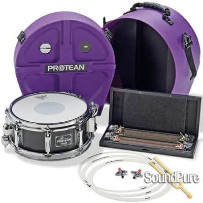 Sonor 12x5 Gavin Harrison Protean Snare Drum-Premium Pack  New