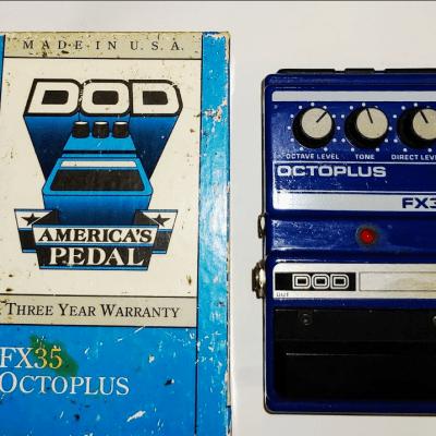 DOD Octoplus FX35 Octave for sale