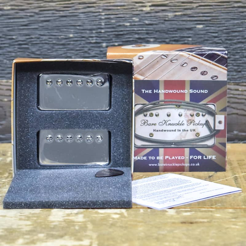 Bare Knuckle The Mule Vintage Output Pickup Set Aged Nickel Covers