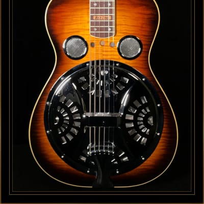 Redline R-Body ProG Squareneck Resonator in Sunburst for sale