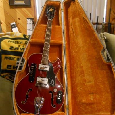 Goya Rangemaster 60's-Cherry Red-OHSC for sale