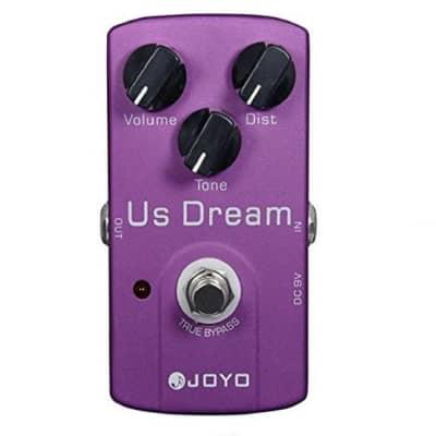 JOYO JF-34 US Dream Distortion Guitar Effect Pedal Aluminum Alloy Body True Bypass Effects Pedals Gu for sale