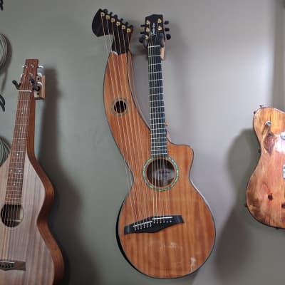 Timberline Parlor Harp Guitar (T30HGpc) // Mahog + Ebony Bevel & Binding // Dual K&K  // $2500 List for sale