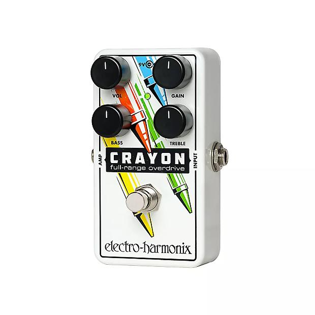 37a1e6232c493b Electro-Harmonix Crayon 76 Full Range Overdrive Price Guide