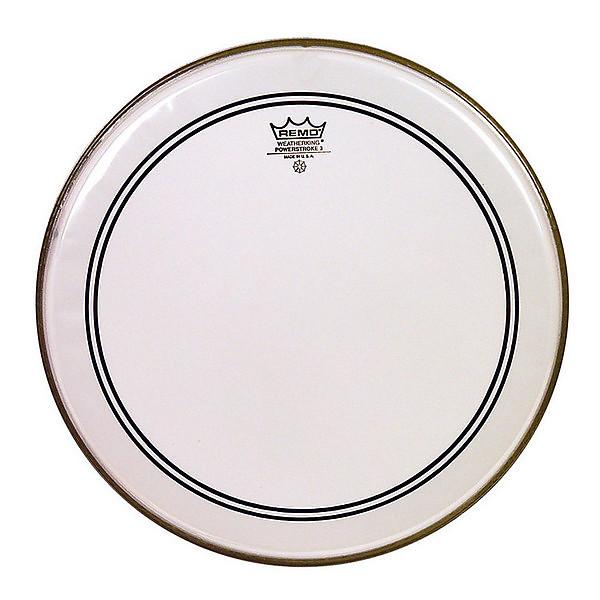 remo bass drum heads powerstroke 3 clear 22 diameter reverb. Black Bedroom Furniture Sets. Home Design Ideas