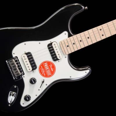 Squier Contemporary Stratocaster HH 2018 Black Metallic no case