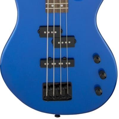 Jackson Js Series Spectra Bass Electric Bass Guitar Js2, Laurel Fingerboard, Metallic Blue for sale