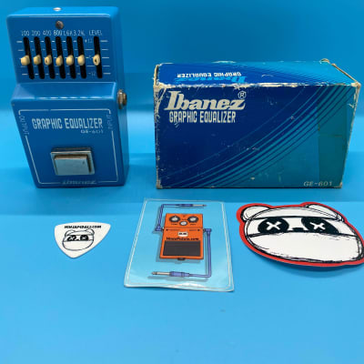Ibanez GE-601 Graphic Equalizer w/Original Box | Rare 1980s EQ | Fast Shipping!