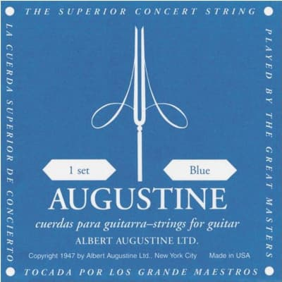 Augustine A87 Blue Label Classical Guitar Strings
