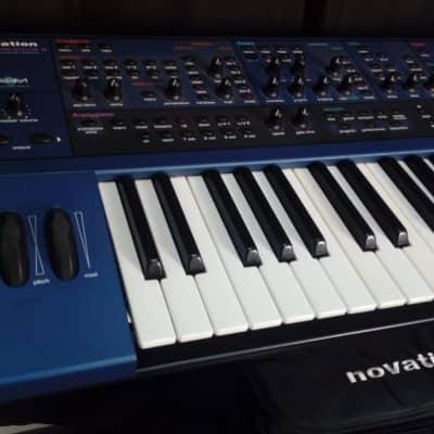 Novation Supernova II 61 keys Virtual Analog Synthesizer | original bag