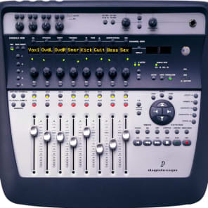Digidesign 002 Console Firewire Audio Interface with Control Surface