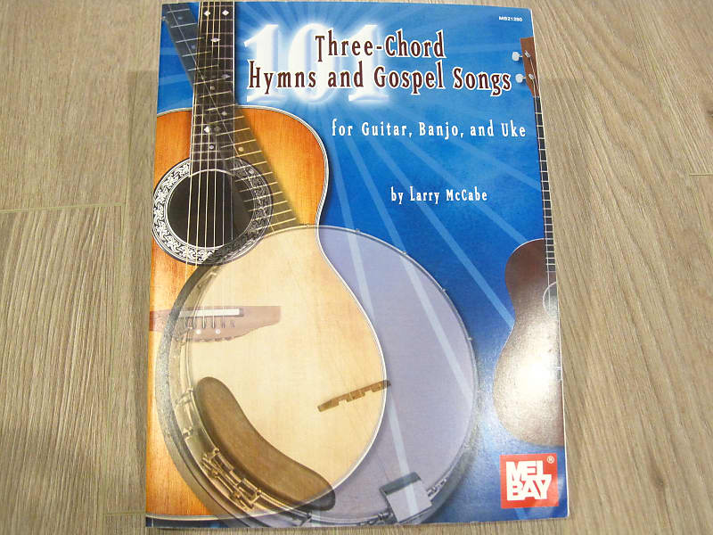 Three-Chord Hymns and Gospels Songs for Guitar, Banjo and Uke Sheet Music  Song Book Songbook