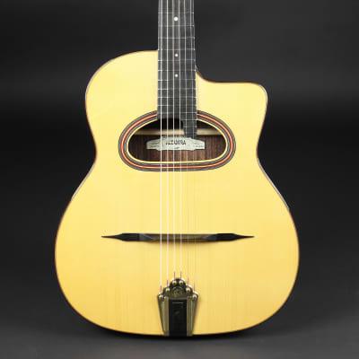 Altamira M01-TD Thin-body D-hole  Gypsy Jazz Guitar for sale