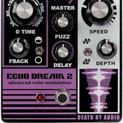 New Death By Audio Echo Dream 2 Echo Modulation Guitar Effects Pedal