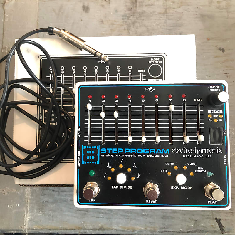 8-STEP PROGRAM - Electro-Harmonix 8-Step Program ...